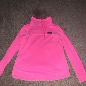 hot pink vineyard vines sweater